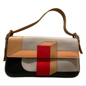 Fendi Baguette Mania Colorblock Purse